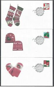 2018 Christmas Warm and Cozy Ltd FDCs with BK stamps