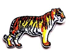 Tiger Big Cat Embroidered Iron Sew On Patch Lion Applique Badge Motif Panther
