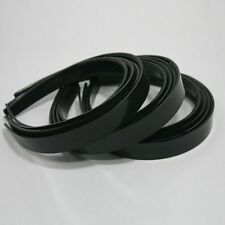 Wholesale LOT 12 HEADBAND BLACK PLASTIC W/ TEETH HAIRBAND HEADBAND MAKING 18mm