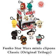 Funko Plushies Star Wars Classic (original trilogy) character clip-ons