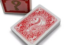1 DECK Ask Alexander playing cards from Conjuring Arts R.C. -- Ivory finish