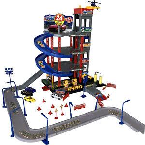 Parkgarage Parkhaus mit Spielstrasse Autogarage incl Spielzeugautos Autogarage
