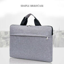 "New 13"" 15.6""Laptop Handbag Sleeve Bag Case Shockproof Waterproof Durable Gray"