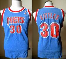 MAGLIA NBA NEW JERSEY NETS #30 KITTLES VEST CANOTTA RAP BASKET VINTAGE JERSEY