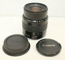 Genuine Canon EF 35-80mm f/4-5.6 II Lens w/ Caps, Autofocus WORKS, Clean, EUC