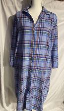 Ralph Lauren Long Sleeve Nightgown Plaid Large