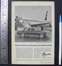 1964 vintage ad RAMBLER Classic 770 sedan advertisement advert car advertising