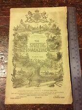 Antique Copy Of The New Sporting Magazine March 1848, Horse Racing, hunting,