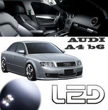 AUDI A4 B6 Pack 10 Ampoules LED Blanc Miroir courtoisie Sols tapis plafonniers