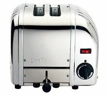 DUALIT Vario 20245 2-Slice Toaster – Stainless Steel High-lift eject