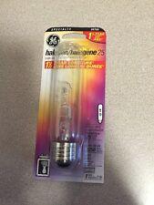 GE 00780 25W Halogen Clear T10 Tubular Light Bulb
