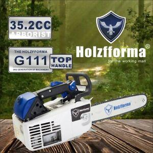 "Farmertec Holzfforma G111 MS200T 020T Chainsaw 35.2CC WT 12"" Guide Bar Saw Chain"