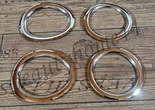 4 pcs. Fog Lights O-Rings For SCANIA R/P/G Made Of Polished Stainless Steel