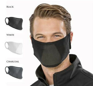 Face Mask Protective Covering Cotton Natural Yarn Antibac (Non-PPE)