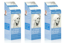 3 x Iced Platinum Colour Restore Semi Permanent Temporary Hair Dye Blonde Toner