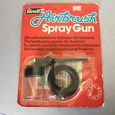 Vintage# 1990 Revell Airbrush Starter Class Spray Gun Made In USA Carded