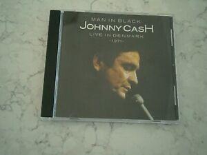 JOHNNY CASH - MAN IN BLACK LIVE IN DENMARK 1971