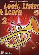 LOOK LISTEN & LEARN 2 Method for Trumpet/Cornet+CD