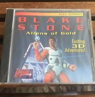 Blake Stone Aliens Of Gold 3D Apogee CD-ROM 1994 Factory Sealed 66 Levels NOS