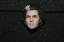 """HOTTOYS 1/6 Sweeney Barber Todd Johnny Depp Carved Head Sculpt F 12"""" Figure Body"""