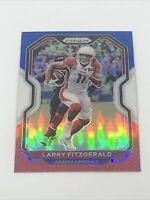2020 Panini Prizm Larry Fitzgerald Red White & Blue Prizm #263 Arizona Cardinals
