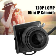 720P 1.0MP Mini IP Camera ONVIF 2.8-12mm Manual Varifocal Zoom Lens P2P NEW