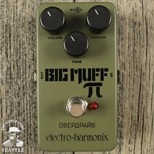 Electro-Harmonix EHX Nano Green Russian Big Muff Pi Distortion Pedal