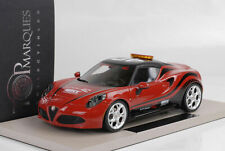 2014 Alfa Romeo 4C Safety Car  WTCC red rot  1:18 Top Marques / BBR
