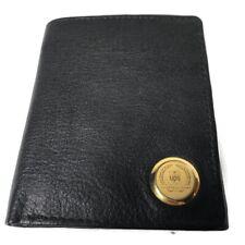 UPS Gold Medallion Black Leather Wallet Rare