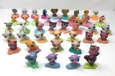 Huge lot of 41 Littlest Pet Shop McDonalds toys LPS animals dog cat Christmas a