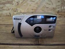 Nikon AF240SV Point & Shoot 35mm Autofocus Compact Film Camera Lomo Retro Vgc