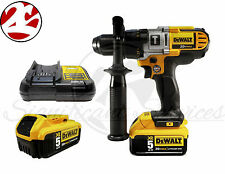 "New DeWALT 20V MAX Lithium-Ion 1/2"" Premium 3 Speed Hammerdrill Kit DCD985M2"
