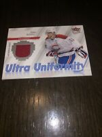 2007-08 Fleer Ultra Hockey Uniformity JERSEY Saku Koivu Montreal Canadiens