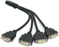 MATROX QUAD F16104-05 KX-20 TO 4-WAY DVI SPLITTER CABLE