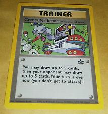 POKEMON BLACK STAR PROMO CARD - #16 COMPUTER ERROR