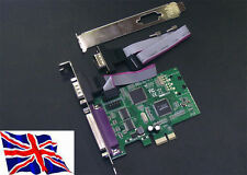 Serial RS232 x2 + Parallel  PCI Express Card SystemBase 16C1053