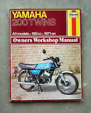 YAMAHA RD200 - Owners Workshop Service Repair Manual RD 200 CS-3E CS-5E DX