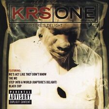 KRS ONE - Best Of Rapper's Delight - Factory Sealed (NEW CD)