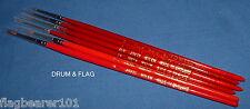 Javis Qualità in Nylon Pittura Pennelli Misti Taglia 6 Pack. Taglie 1 - 5/0 Brush Set