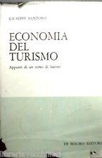 ECONOMIA DEL TURISMO Appunti di un corso di lezioni Giuseppe Santoro Finanza di