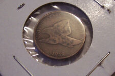 1858 SMALL DATE FLYING EAGLE CENT PENNY COPPER