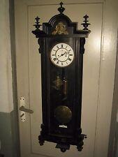 Antique 2 Weight Vienna Regulator Wall Clock
