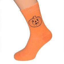 Halloween Creepy Pumpkin Socks Mens UK 6-12 - X6N230