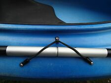 Kayak Bungee Paddle Holder Kit Easy to Install Made in USA Instructions Included