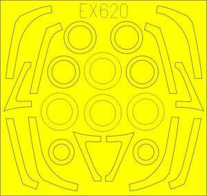 Eduard 1/48 Lockheed-Martin F-16C/N Fighting Falcon TFace Paint Mask # EX620