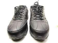 Fila Memory Workshift Mens Slip-Resistant Athletic Shoes Black Size 13 US