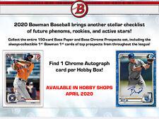 Bobby Witt Jr. Royals 2020 Bowman FULL JUMBO CASE (8x) BREAK +Hobby Box Giveaway