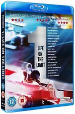 1 - LIFE ON THE LIMIT (2013) RgB BLU-RAY F1 FORMULA ONE THE MOVIE Fassbender NEW