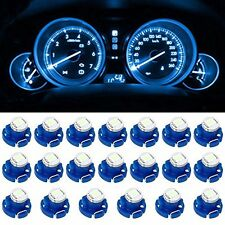 20pcs Blue Instrument  LED Light Bulb T4 T4.2 1SMD Neo Wedge Panel Gauges Bulbs