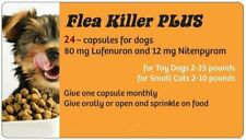 Flea Control with Orange Flea Killer PLUS for Dogs 2-25 lbs. ~ 24 Monthly Caps